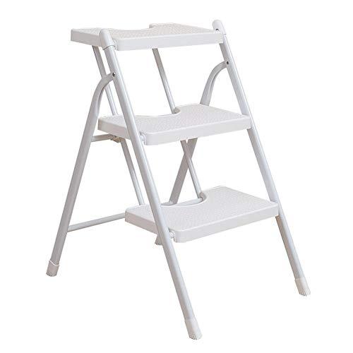 Paso heces Inicio hogar plegable escalera heces conveniente for el adulto y cocina reposapiés plegable portátil de los niños/silla pequeña escalera/rack de almacenamiento/puesto de flores ** LOL