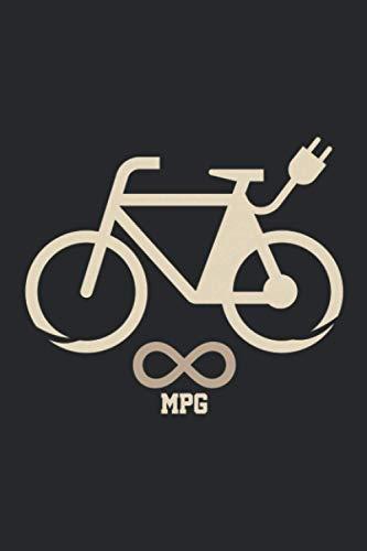 MPG Bike: A5 Liniertes Notizbuch auf 120 Seiten - Fahrrad Notizheft | Geschenkidee für Rennrad und Mountainbike Fahrer, Radtouren, Radsport und Mannschaften