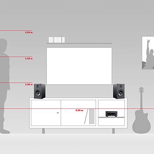Teufel Kombo 11 Schwarz Stereo Lautsprecher Musik Sound Hochtöner Mitteltöner Bass Speaker DAB+ HiFi Soundanlage…