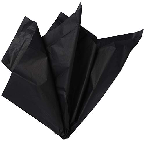 Papel Seda Negro para Envolver Marca Unique Party