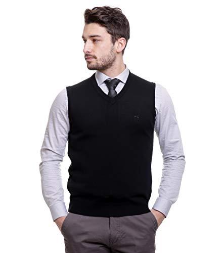 BASE 41 Men's Wool V-Neck Sweater