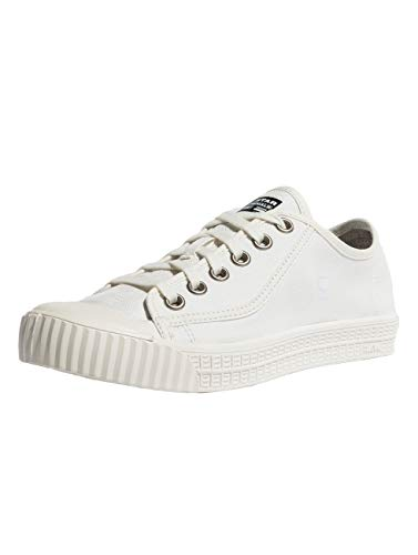 G-STAR RAW Damen Rovulc Denim Low Sneakers, Weiß (White 110), 40 EU
