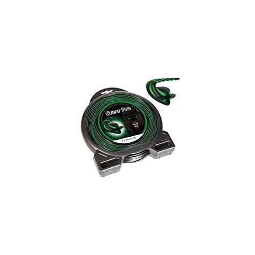 Fil débroussailleuse nylon Cuter'Pro Hélicoïdal 2,4mm par 86m en coque