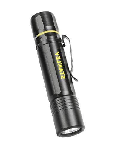 Stanley DZ765380 - Linterna LED recargable (200 lúmenes, IPX4)