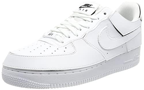 Nike AF 1/1, Scarpe da Ginnastica Uomo, White/White-Black-Cosmic Clay, 42 EU