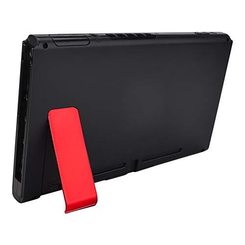 eXtremeRate 2 Piezas de Kickstand para Nintendo Switch Soporte de Reemplazo Kickstands Soporte de Host Trasero Holder Kick Stand para Consola Nintendo Switch-No Incluye Consola(Rojo Cromo)