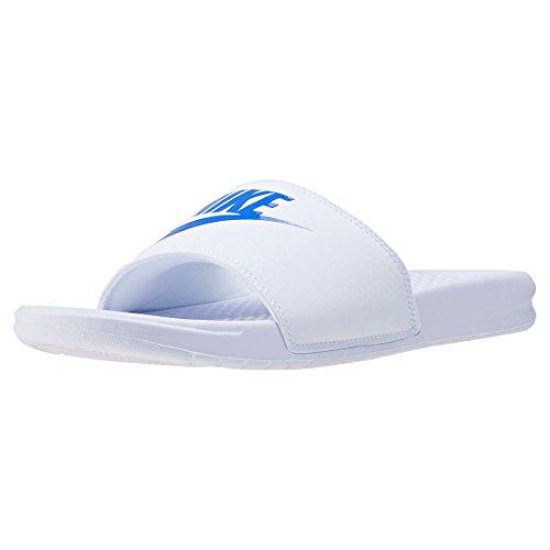 Nike Benassi Jdi, Herren Flip Flop, Mehrfarbig (Varsity Royal-Weiß), 41 EU (8 US)