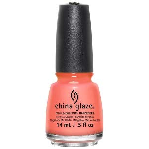 China Glaze Nail Lacquer with Hardner - Lacquered Effect - Flip Flop Fantasy, 1er Pack (1 x 14 ml)