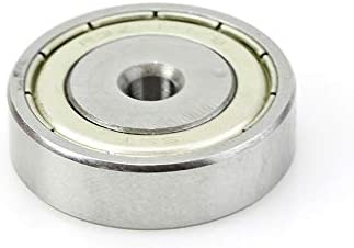wholesale Amana Tool - 47743 online Steel Ball Bearing Guide 1-1/8 Overall Dia x 3/16 Inner new arrival Dia x 5/16 Heig online
