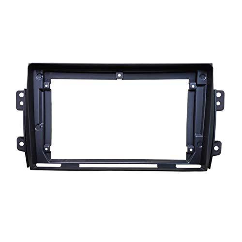 fangyuan 9 pollici Auto Stereo Big Screen 2Din FASCIA FRAMMA ADAPTER AD AUDIO DASH PANNELLO PANNELLO Adatto per Suzuki SX4 2006-2017 (Color Name : Black)