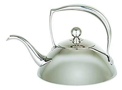 Viking Culinary Viking Stainless Steel Tea Pot with Filter, 1 Liter