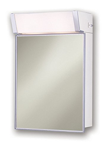 "Jensen 555ILX Lighted Medicine Cabinet, 16"" x 24"""