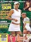 Celebrity Skin Magazine April 2005 #138 (Sports Buffs! All-Star Tarts! Anna Kournikova: Off-Court Beach Buzz!)