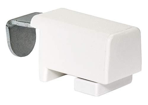 SchattenFreude 4er Set Metal-Klemmfix-Halter zum Anklemmen von verspannten Plissees am Fensterrahmen