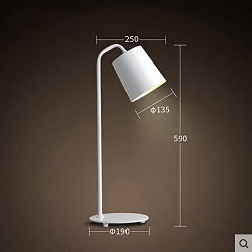 Lucky Led-bureaulamp, metaal, dimbaar, geheugenfunctie, bureaulamp met draadloze