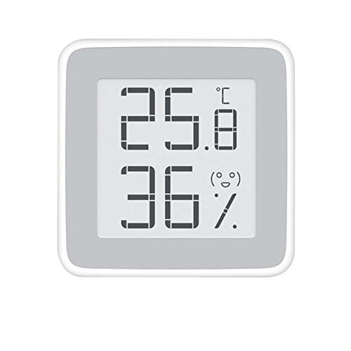 JSFDSUCM Thermometer, Electronic Temperature and Humidity Meter, Indoor High-Precision Ink Screen Digital Thermometer