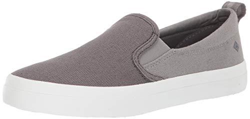 Sperry Womens Crest Twin Gore Color Block Sneaker, Grey, 8.5