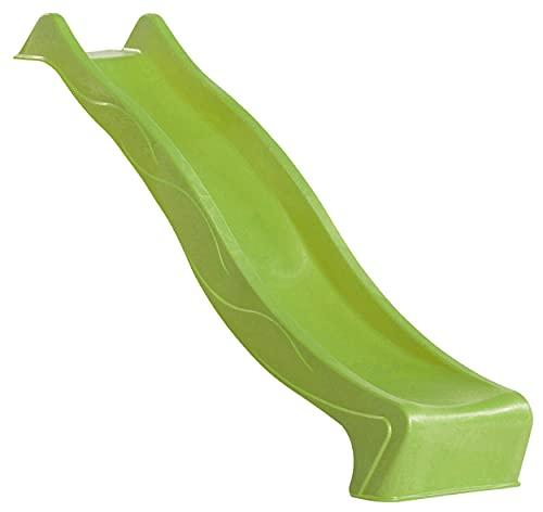 AVANTI TRENDSTORE - Scivolo Suri 'S-Line' in plastica sintetica per bambini, disponibile in diversi colorazioni (Verde lime)