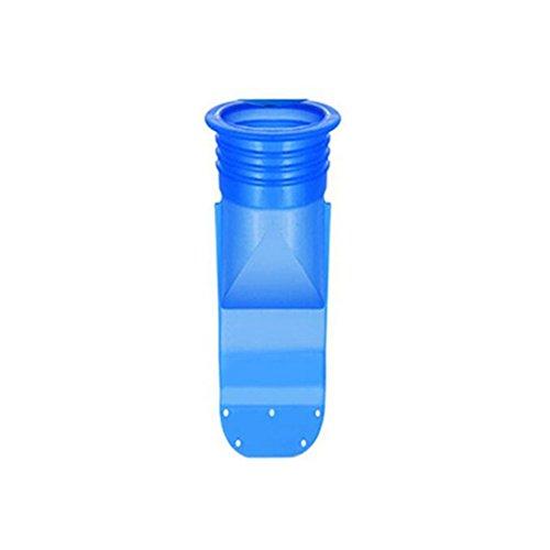 GEZICHTA - Válvula de Desagüe de Silicona antiolor para Tuberías de Inodoro y bichos, As Picture Show, D