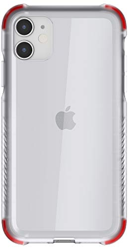 Ghostek Covert Clear iPhone 11 Case with Super Slim Fit Design and Secure Hand Grip Tough Military Grade Heavy Duty Protection Wireless Charging Compatible for 2019 iPhone 11 (6.1 Inch) - (Clear)