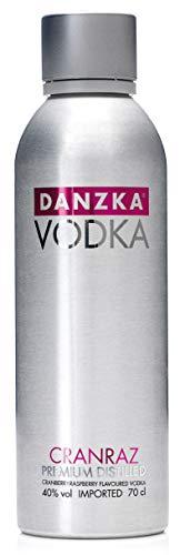 Danzka | Cranraz | Premium - Wodka | 1 x 700ml | Aluminiumflasche | Skandinavisches Design | Copenhagen