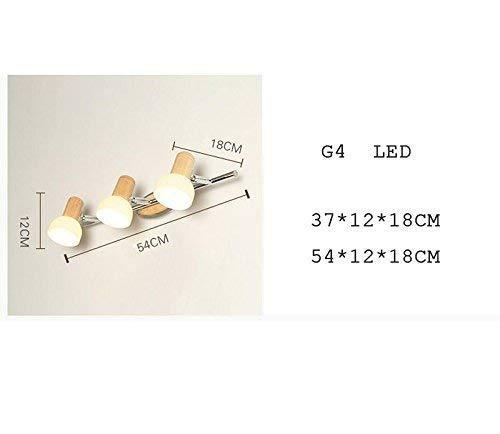 Lámpara LED para el hogar Espejo de Noche Lámpara de Pared de...