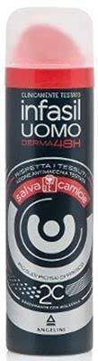 Set 6 INFASIL Deodorante Spray Uomo Salvacamice 150 Cura E Igiene Del Corpo