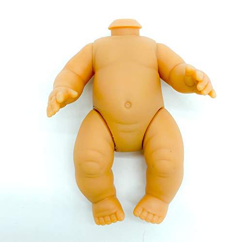 Folk Artesanía Cuerpo articulado muñeca bebé Vinilo válido para Reparar y Repuesto muñecas Tipo Barriguitas de Famosa clásica