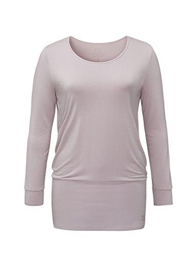YOGA CURVES Damen YC-C178 Shirt, Rose, 46/48