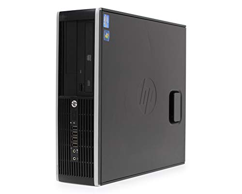 Hp Elite 8300 SFF - Ordenador De Sobremesa (Intel Core I5-3470, 3.2 GHz, 8GB De RAM, Disco SSD De 240GB + 500GB HDD, Lector, Windows 10 Pro ES 64) (Reacondicionado)