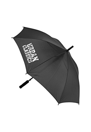 Urban Classics Umbrella Auto Open UC Regenschirm, 58 cm, Black