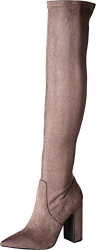 Steve Madden Gorgeena Over The Knee Boot Dark Grey 6.5