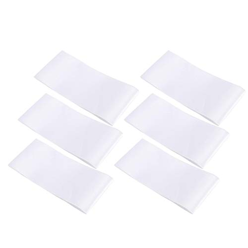Fajas en blanco de tamaño pequeño, lavables, cómodas, 6 piezas para lugares...