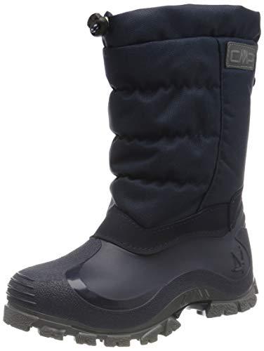 CMP Kids HANKI 2.0 Snow Boots, Stivali da Neve, Blu Nero, 35 EU