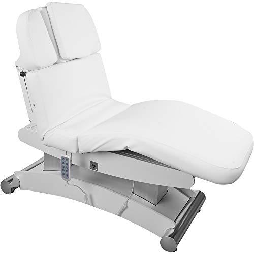 008102H Table de massage électrique avec chauffage Blanc