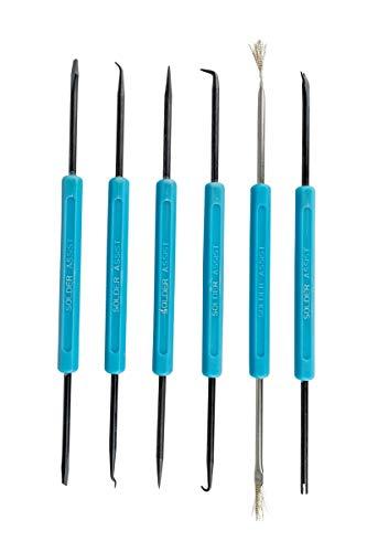 Preisvergleich Produktbild Lötbesteck SA-10 Lötwerkzeug für Lötarbeiten 6-teiliges Set RW-LB6