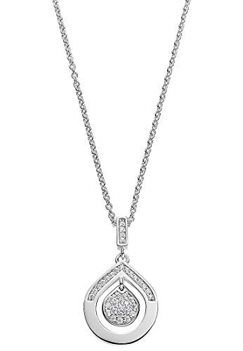 JETTE Damen-Kette 925er Silber 37 Zirkonia One Size 87899951