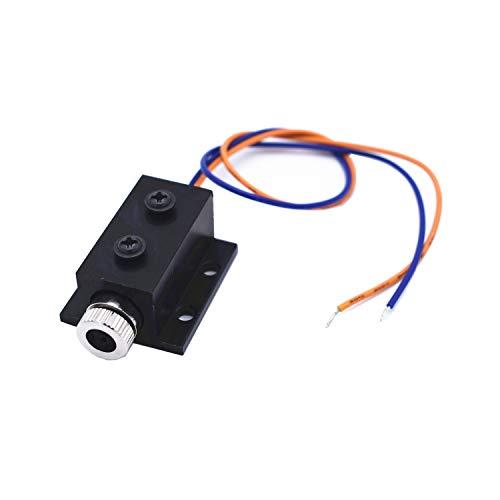TXINLEI 250mW 650nm Red Dot Laser Module, DC 3-5V Focal Adjustable Laser Head with Heatsink for DIY Laser Engraver Machine