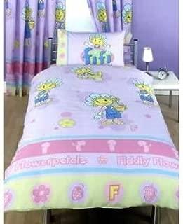 Fifi & the Flowertots Twin Girl Room Duvet Lilac/pink