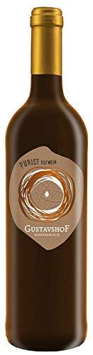 Der Purist ein Cabernet Bio-Rotwein, Demeter zertifiziert, ungeschwefelt
