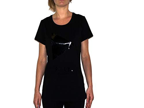 Liu Jo Donna T-Shirt con Stampa Nero MOD. LIUT69142 J0088 XS