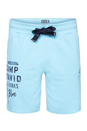 Camp David Herren Sweatbermuda mit Used Prints