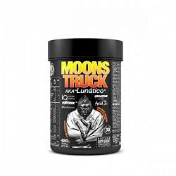 Moonstruck - Pre entreno Potente - Pre training - Suplemento Deportistas - Creatina HCL - Beta Alanina - Cafeína - Citrulina - Vitaminas A y B - 480 gr, 5 sabores (Strawberry Cream)
