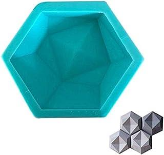 NINESH Bricolaje geométrico moldes de Pared de concreto TV de Fondo decoración Arcilla ladrillo artesanía para