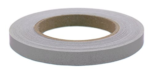 ChromaLabel 1/2 Inch Removable-Adhesive Labeling Tape for Color Coding, 60 Yard Roll (Gray)
