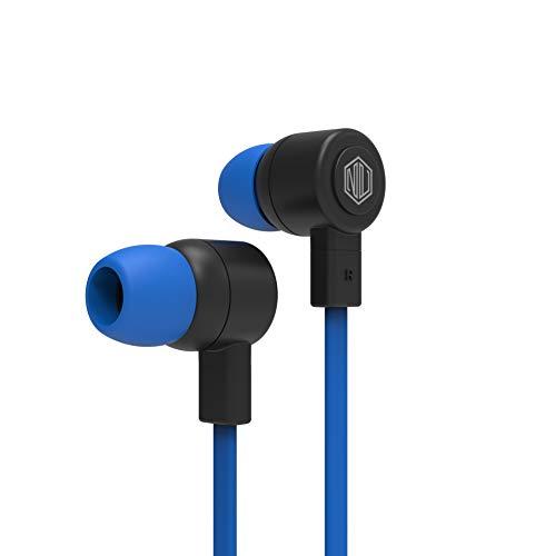 Nu Republic Jaxx L Wired Earphones (Blue)