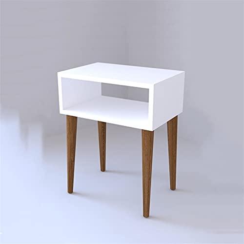 XLEVE Casa de los Laterales del Mueble de la Plaza de la Mesa de Centro pequeña Sala de Estar Mesilla de Noche de diseño Mesa Auxiliar Sofá Lado Minimalista pequeño Escritorio