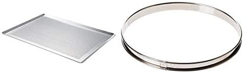 De Buyer Plaque Pâtissière Micro-perforée - Aluminium non revêtu