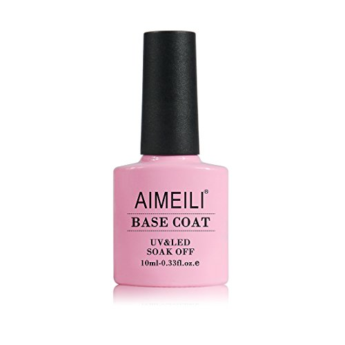 AIMEILI Base Coat Unterlack UV LED Gellack Gel Nagellack Gel Nail Polish 10ml