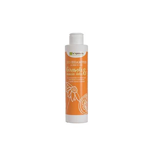 Shampoo Girasole e Arancio Dolce Semi di Lino Bio da 200ml -...
